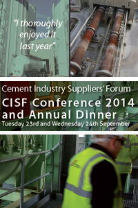 Cement Industry Suppliers' Forum Conference 2014