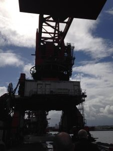 Bristol Port crane