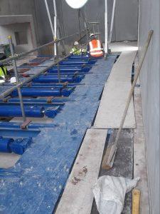 Saxlund installs push floor