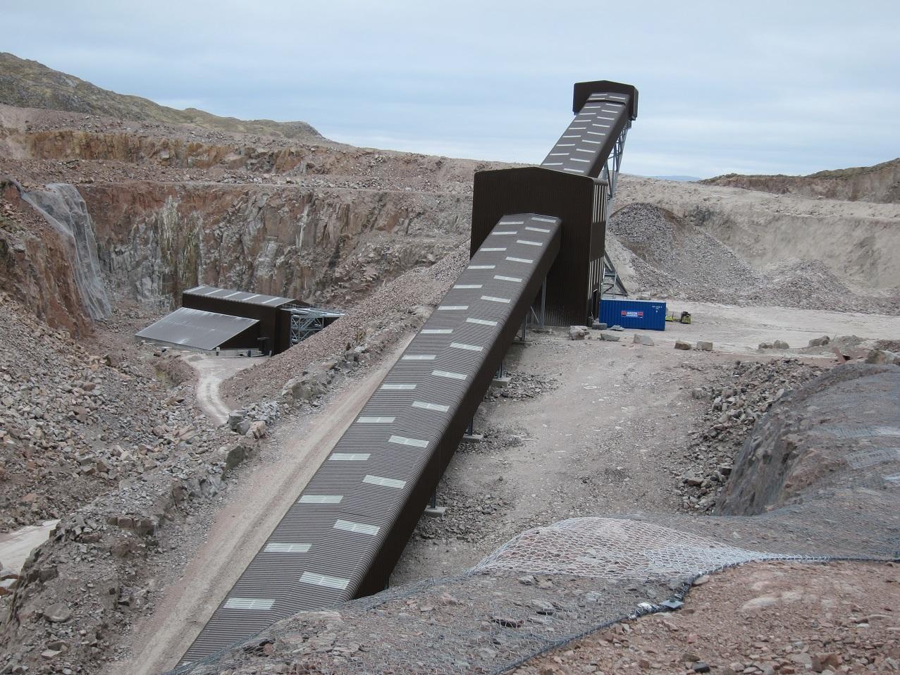 member site visit to glensanda quarry, 10 may 2017 - mhea