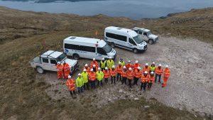 Glensanda Quarry site visit