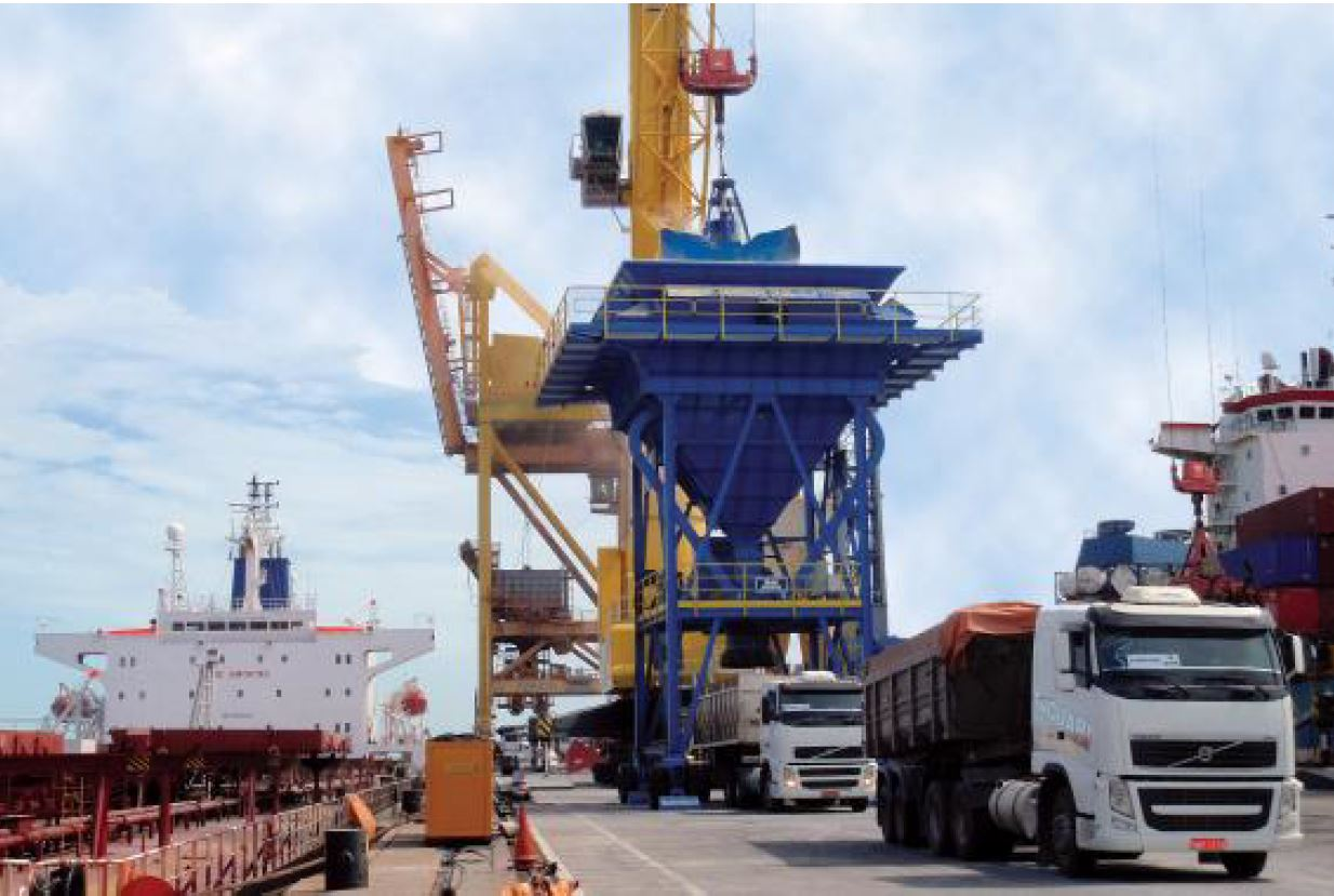 SAMSON-Eco Hoppers with ATEX for Port of  Mombasa