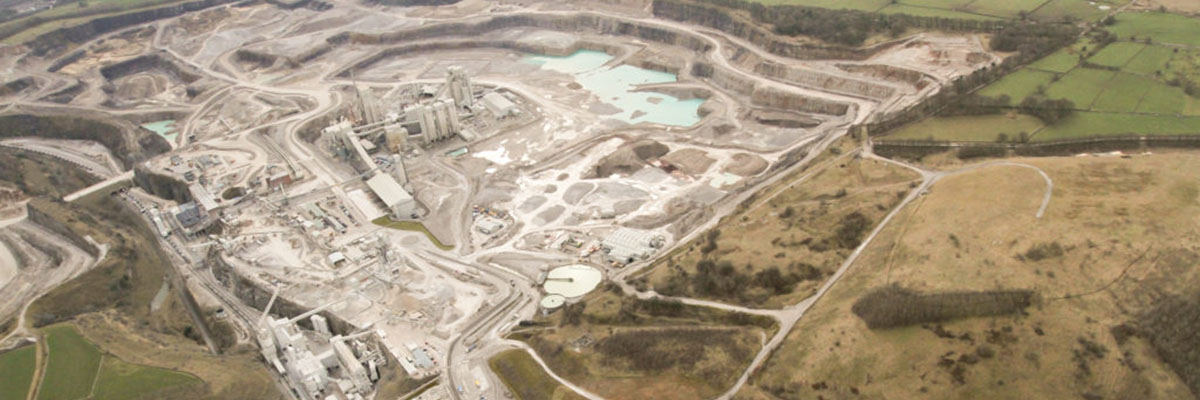 First Site Visit Of 2018: Tunstead Quarry, Buxton