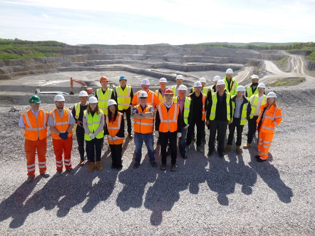 MHEA members enlightened by Tunstead Quarry Visit