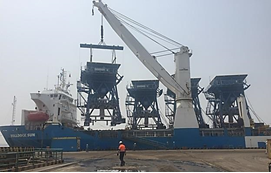 4 SAMSON Eco Hoppers With ATEX Cert  To Double Throughput At The Port Of Mombasa